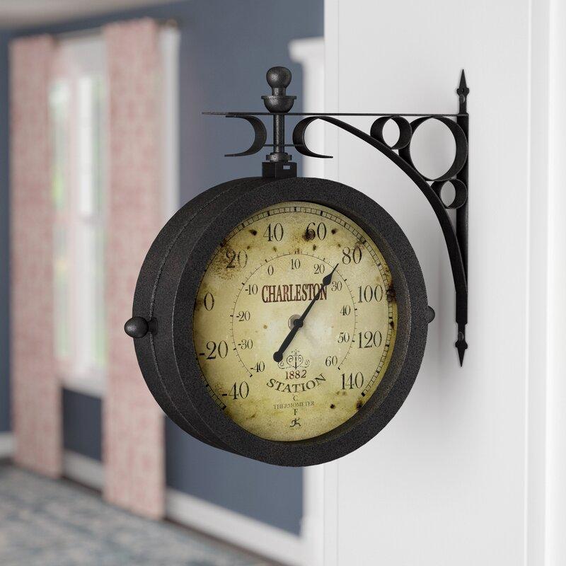 Charlton Home 8 6 Quot Wall Clock Amp Reviews Wayfair