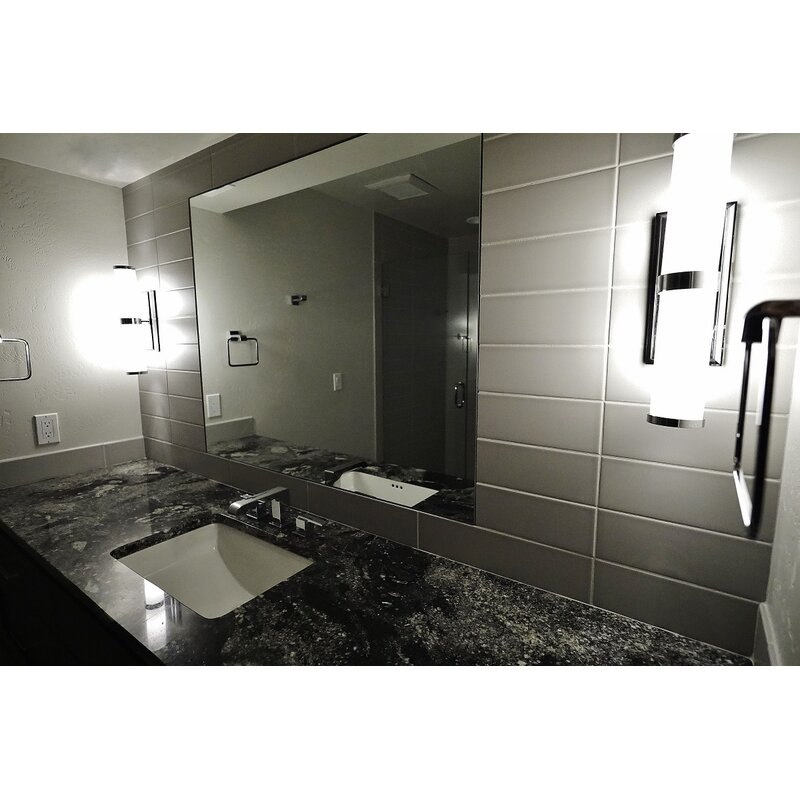 Emser Tile Vogue 4 X 16 Ceramic And Glass Double Bullnose Right