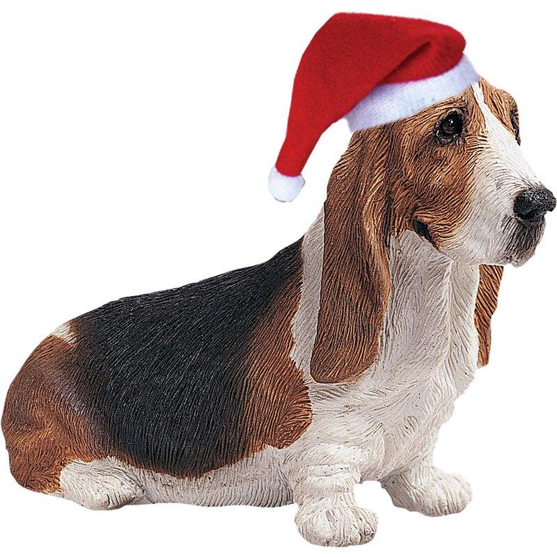 Basset Hound Christmas Ornament - Sandicast Basset Hound Christmas Ornament & Reviews Wayfair