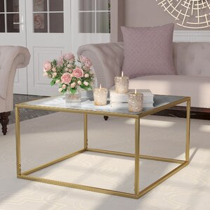Gold Marble Coffee Tables Youll Love Wayfair