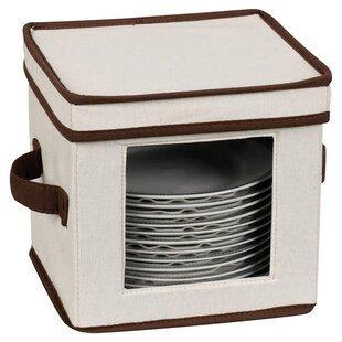 Serveware Storage Box  sc 1 st  Joss \u0026 Main & Dinnerware Storage | Joss \u0026 Main