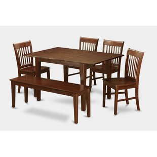 Lorelai 6 Piece Extendable Dining Set Today Only Sale