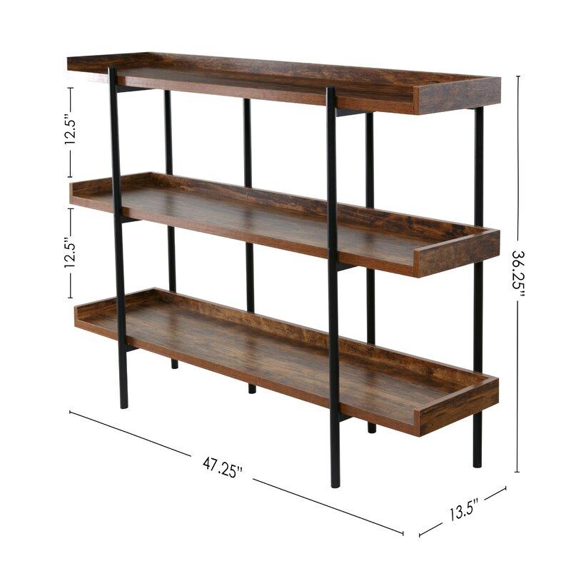 Gracie Oaks Calona Modern Etagere Bookcase Amp Reviews Wayfair
