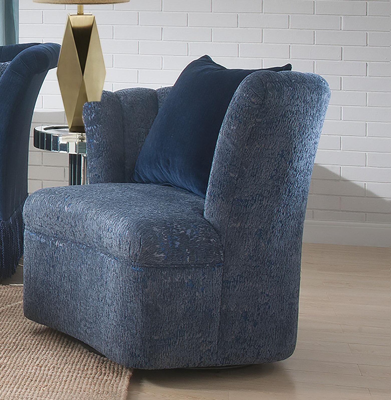 Everly Quinn Reyes Swivel Slipper Chair   Wayfair