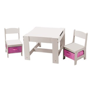 Children S 3 Piece Table And Chair Set