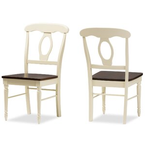 Baxton Studio Solid Wood Dining Chair (Set of 2) by Wholesale Interiors