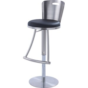 Jenele Adjustable Height Bar Stool by ..