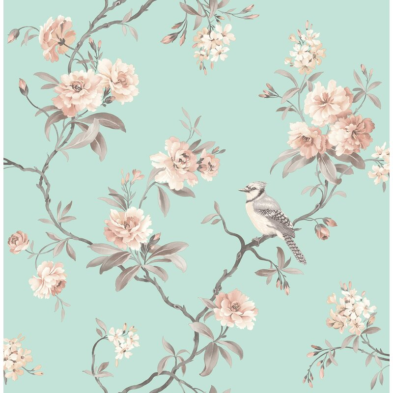 Brewster home fashions chinoiserie floral 33 x 205 wallpaper roll chinoiserie floral 33 x 205 wallpaper roll mightylinksfo