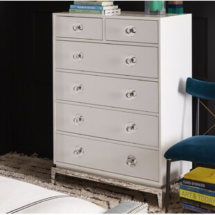 Merveilleux Channing 6 Drawer Tall Chest