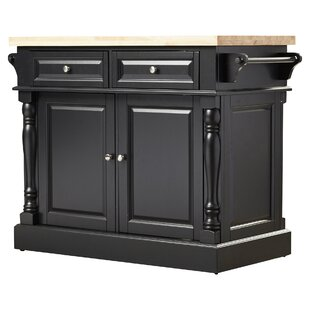 coan kitchen island with butcher block top - Kitchen Carts And Islands