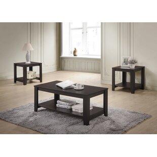 Halbert 3 Piece Coffee Table Set  sc 1 st  Wayfair & Coffee Table Sets You\u0027ll Love | Wayfair