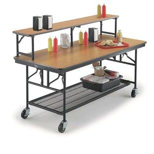 Mobile Buffet Bar Cart
