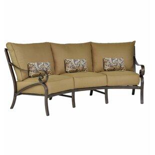 Fantastic Crescent Shaped Outdoor Sofa | Wayfair SM25