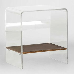 Sloan Lucite Waterfall End Table