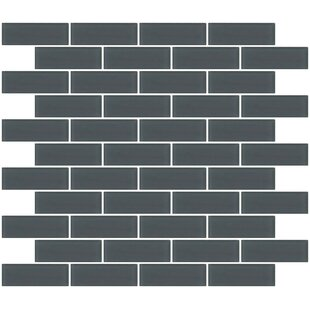 1 X 3 Gl Subway Tile In Frosted Dark Gray