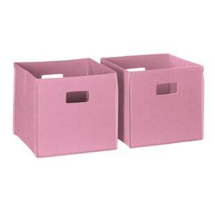 Etonnant 13x13 Storage Bins Pink | Wayfair
