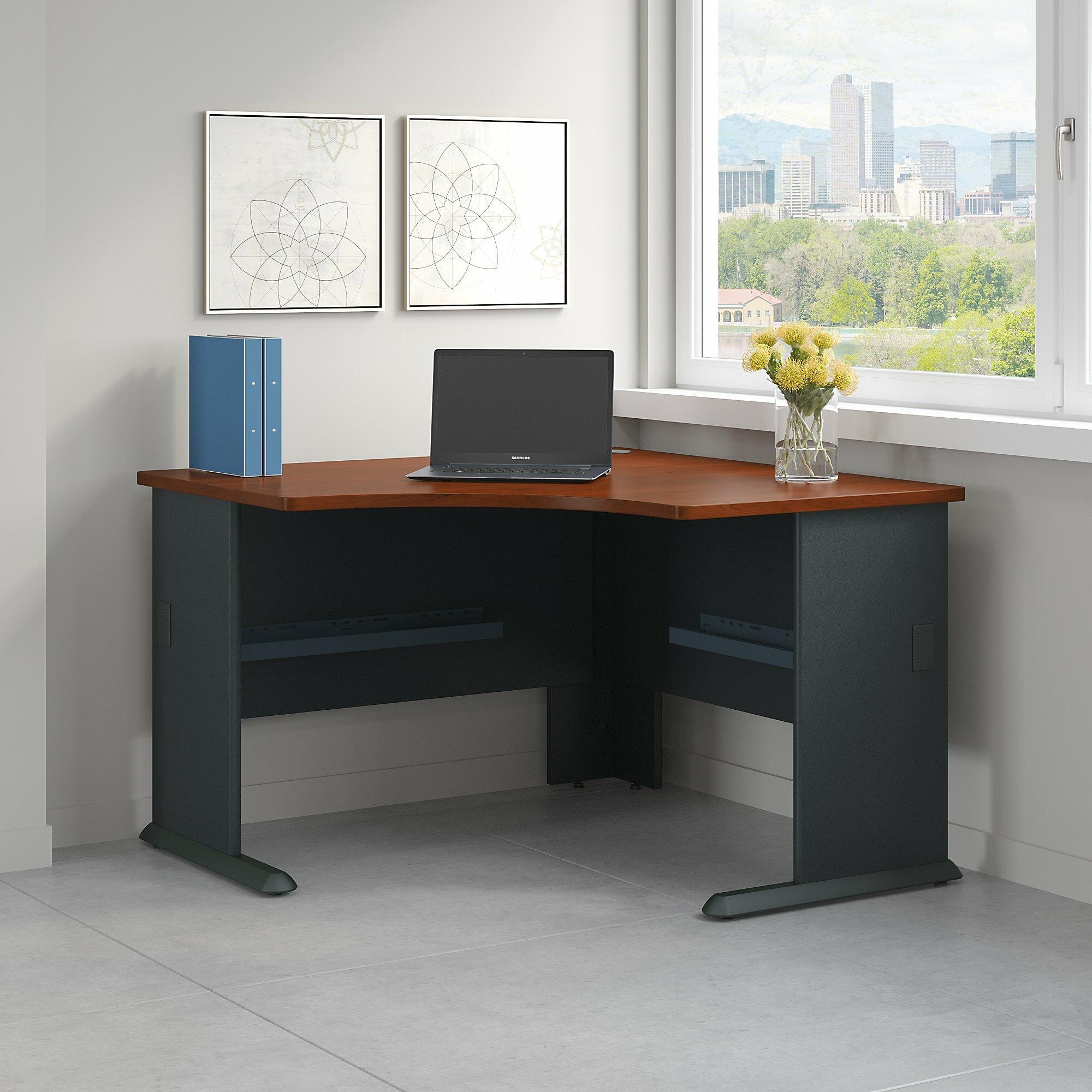 series a corner desk shell rh wayfair com