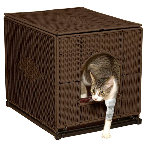 litter boxes enclosures you 39 ll love. Black Bedroom Furniture Sets. Home Design Ideas