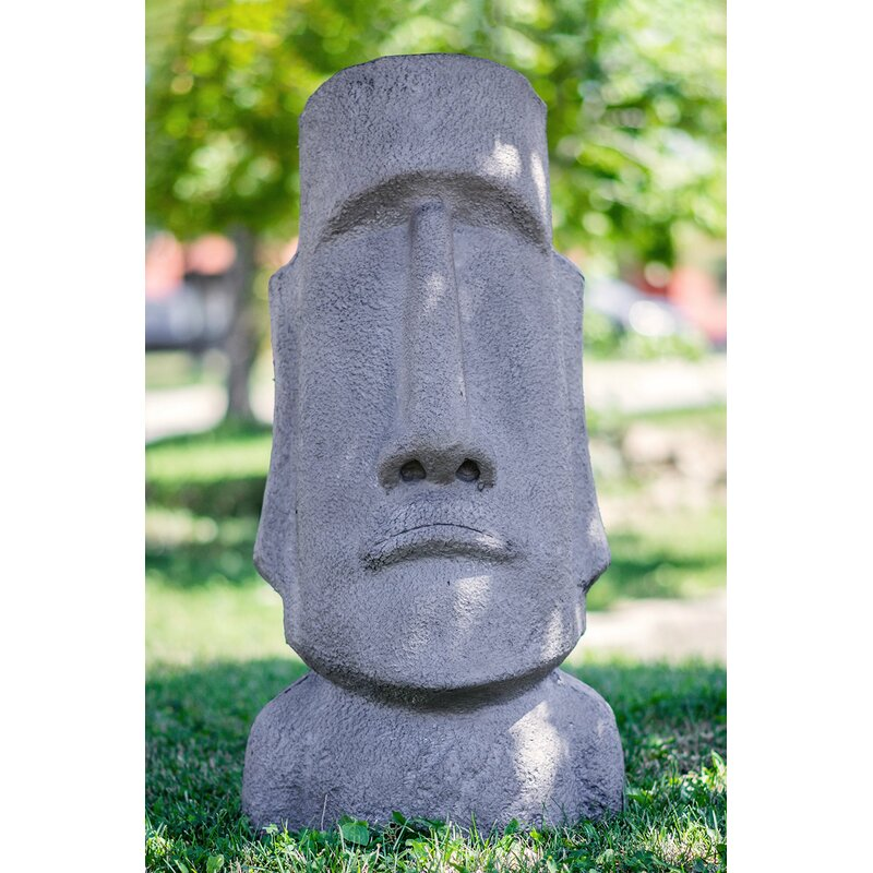 Hi line gift ltd. easter island head statue & reviews wayfair