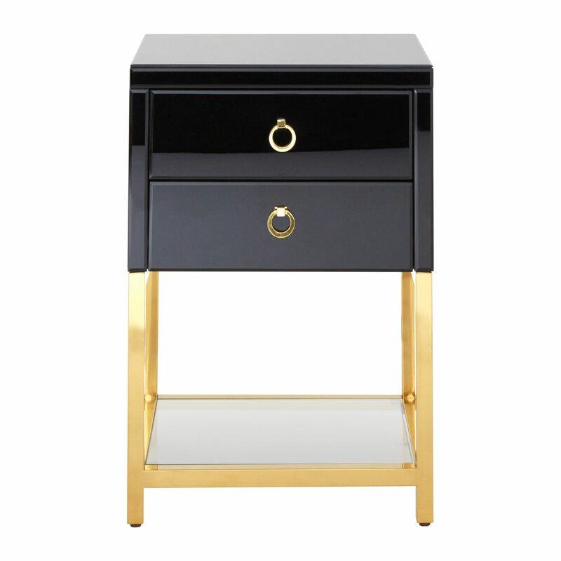 mercer41 beistelltisch watermill mit stauraum. Black Bedroom Furniture Sets. Home Design Ideas