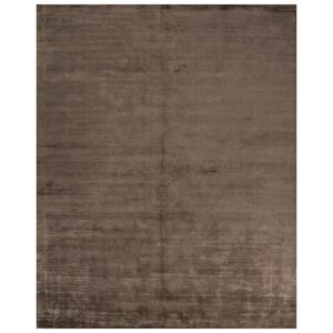 Canarsie Hand-Loomed Beige/Brown Area Rug