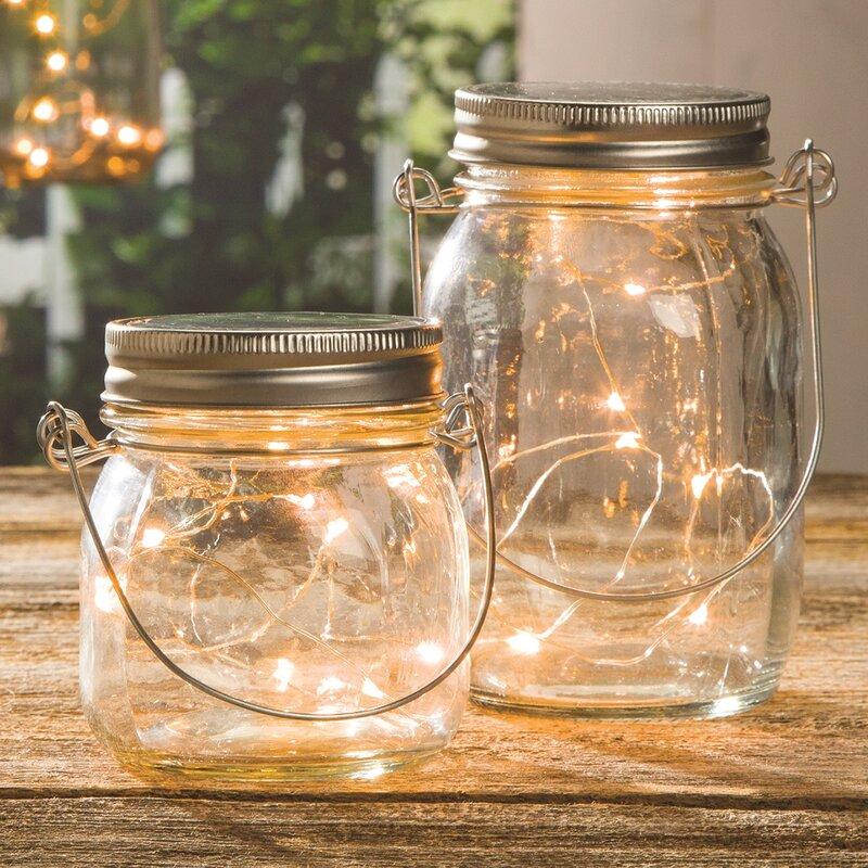 Decorative Jars Custom Decorative Clear Glass Mason Jar & Reviews  Joss & Main Decorating Inspiration