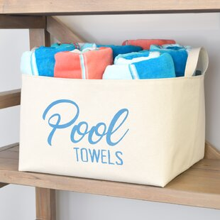 Pool Towels Storage Bin