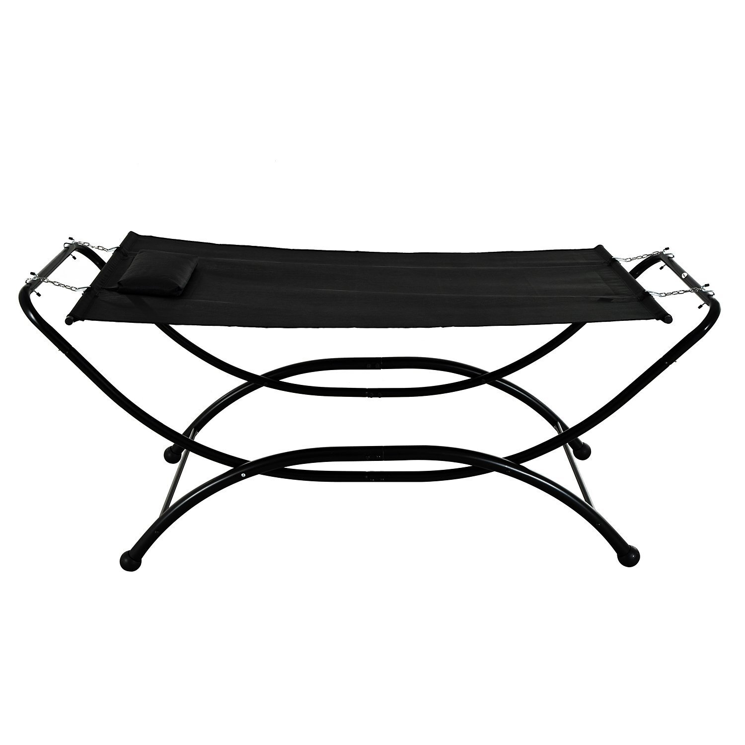 heavy outdoors depot hammock stands cha the n vivere stand home b patio hammocks furniture charcoal duty universal in steel