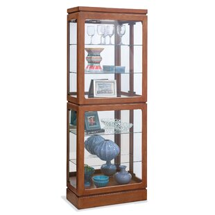 Breckenridge II Lighted Curio Cabinet