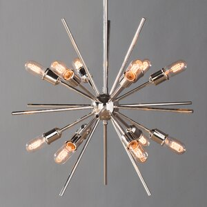 Corona 12-Light Cluster Pendant