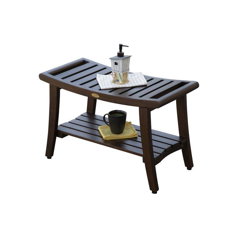 Decoteak Outdoors Harmony Teak Picnic Bench Reviews Wayfair - Teak picnic table with benches