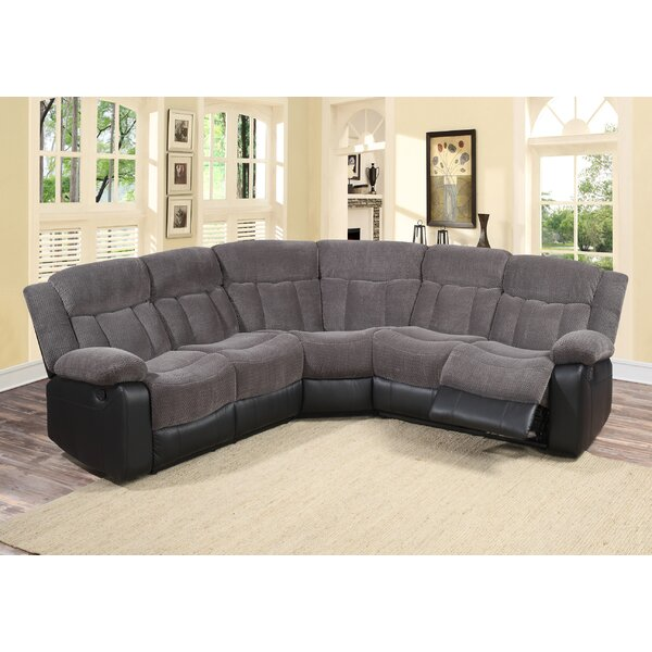 Living In Style Reclining Sectional & Reviews