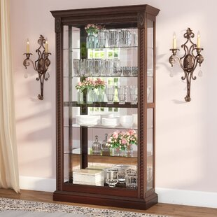 Charmant Tall Narrow Curio Cabinet | Wayfair