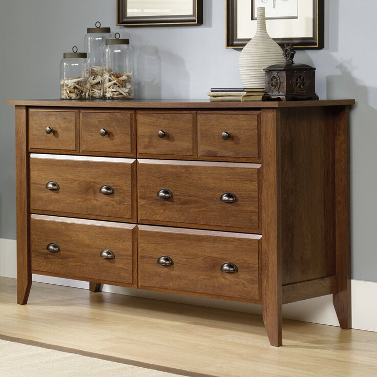 style wood sawn bedroom solid s quarter in oak the dressers horizontal dresser mahogany mission