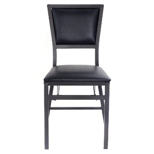 kitchen chair styles queen anne shildon folding upholstered dining chair set of 2 genuine leather kitchen chairs youll love wayfair