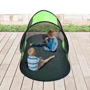Portable C&ing Shelter Backpacking Pop Up Bed Tent  sc 1 st  Wayfair & Pop Up Screen Tent With Floor | Wayfair