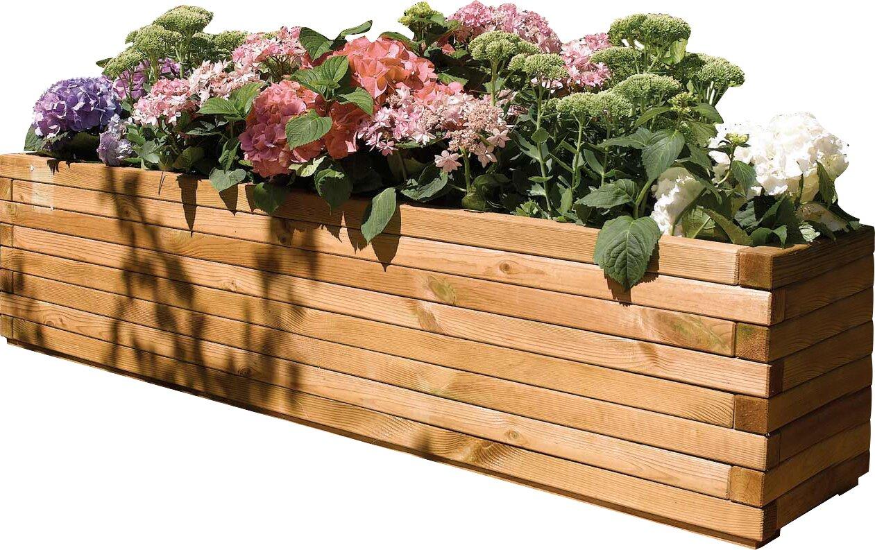 Rowlinson 6 5 Ft X 1 5 Ft Wood Planter Box Amp Reviews