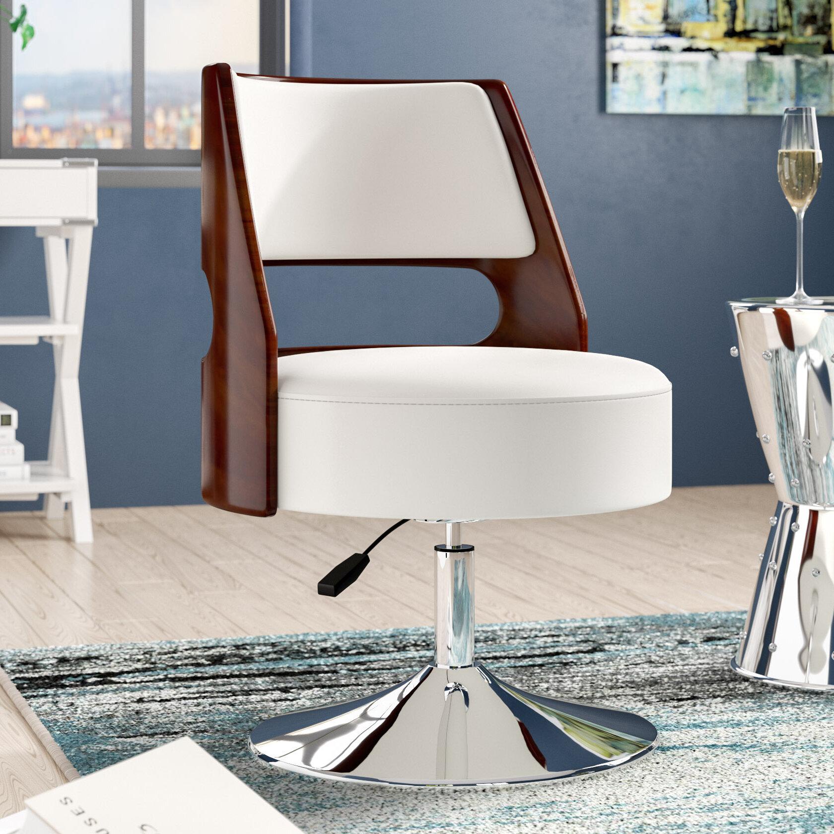 Astounding Raguel Swivel Side Chair Andrewgaddart Wooden Chair Designs For Living Room Andrewgaddartcom