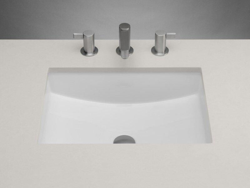 Ronbow Plane Ceramic Rectangular Undermount Bathroom Sink with ... on kohler bathroom sinks, oblong bathroom sinks, 17 x 29 rv sinks, small rectangular bathroom sinks, rectangular ceramic vessel bathroom sink, stone drop in sinks, cultured marble vanity bathroom sinks, small undermount sinks, rectangular drop in bathroom sinks, rectangular stainless bathroom sinks, bath wall mount sinks, rectangular copper bathroom sinks, bathroom waterfall faucets for sinks, decorative bathroom sinks, rectangular porcelain sink, rectangular double bathroom sinks, ace hardware bathroom sinks, contemporary bathroom sinks, rectangular pedestal bathroom sinks, undermount bath sinks,