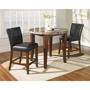 Laverty 3 Piece Counter Height Pub Table Set