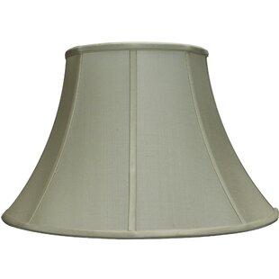 16 inch high lamp shade wayfair charlotte 165 silk bell lamp shade aloadofball Choice Image