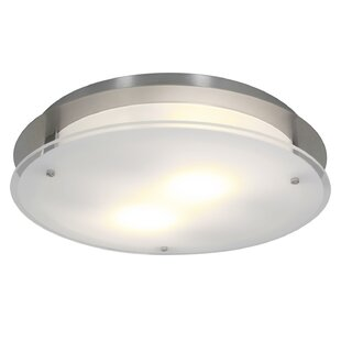 Outdoor flush mount lights youll love retha 2 light outdoor flush mount workwithnaturefo