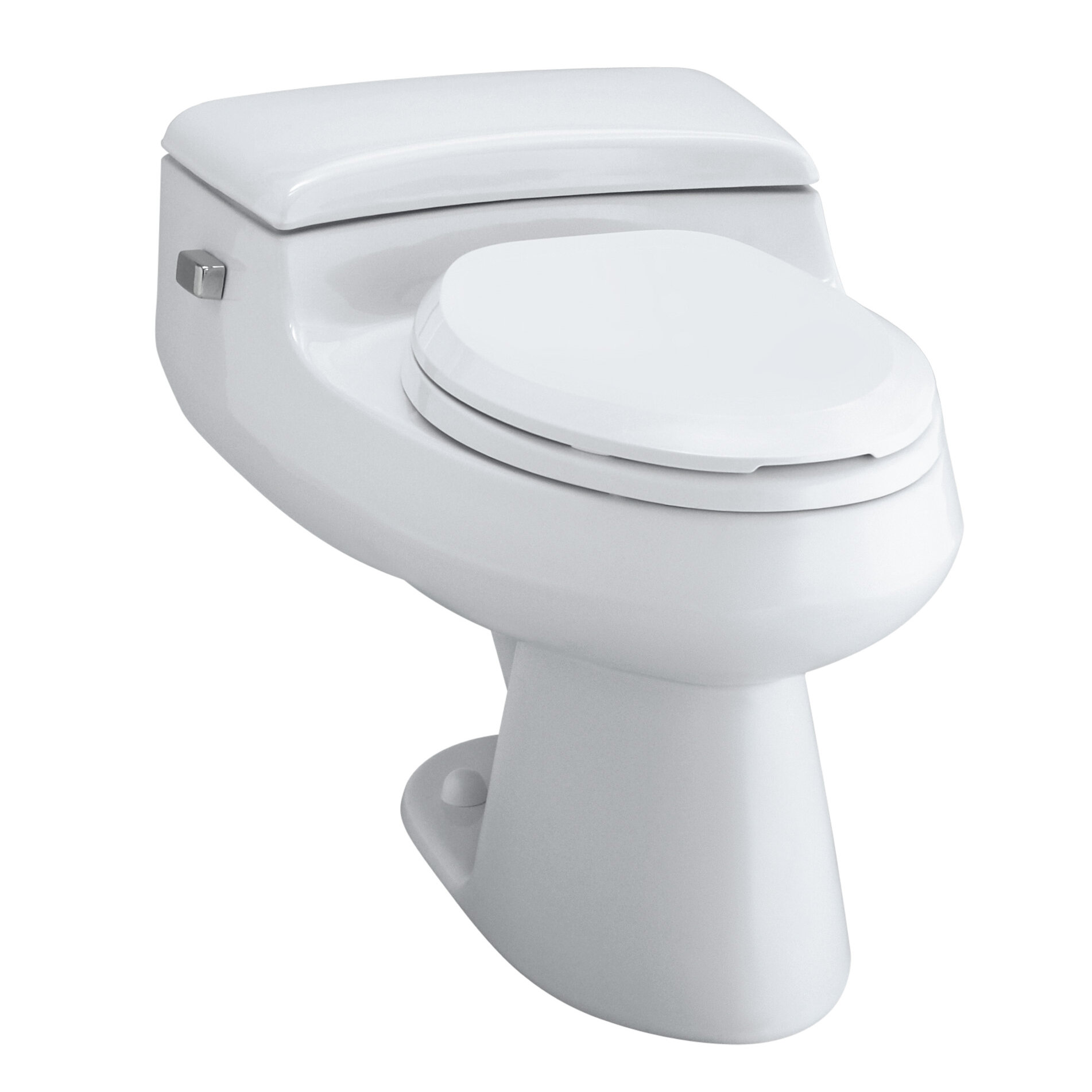 K-3597-0,47,58 Kohler San Raphael Comfort Height One-Piece Elongated ...