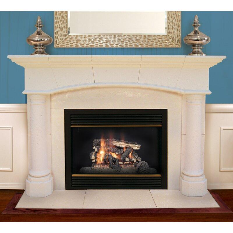 Americast Architectural Stone Jefferson Fireplace Mantel Surround Wayfair Ca
