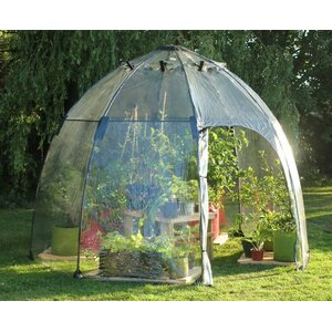 Haxnicks 9.18 Ft. W x 9.18 Ft. D Greenhouse