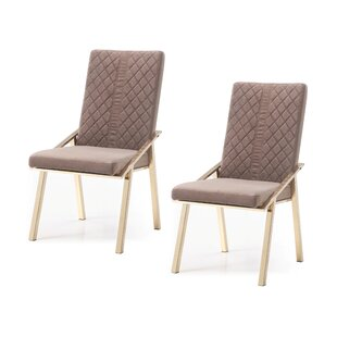 Chudleigh Upholstered Dining Chair (Set of 2)