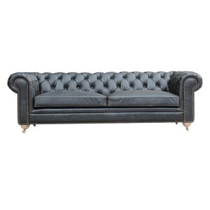 Alek Chesterfield Sofa by 17 Stories