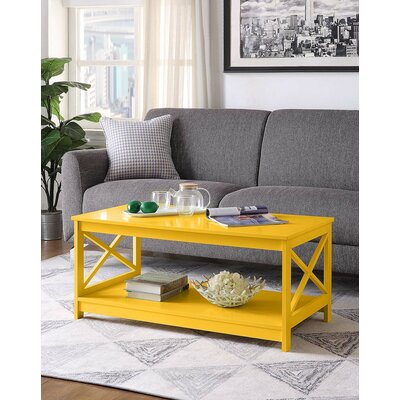 Yellow Coffee Tables You Ll Love In 2019 Wayfair