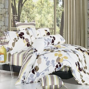 vintage 3 piece reversible duvet cover set