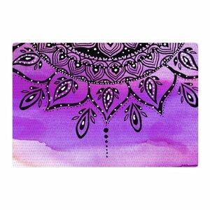 Li Zamperini Lilac Mandala Lavender/Purple Area Rug